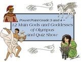 Greek Gods and Goddesses- 3rd and 4th grade -slide show an