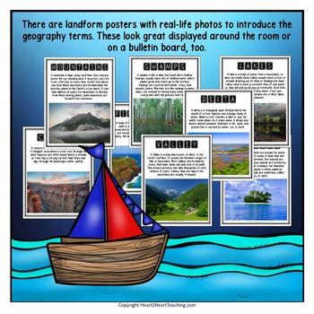 Major Landforms: Geography Interactive Notebook