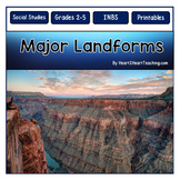 Major Landforms: Geography Interactive Notebook