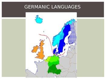 Major Language Groups of Europe (Germanic, Romance, Slavic)