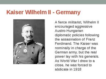 Major Leaders of WWI