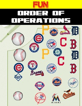 Math Center Fun-Order of Operations