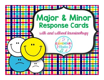 Major & Minor Response Cards