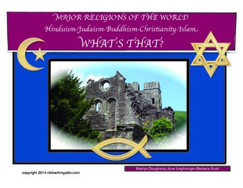 Major Religions: Hinduism, Judaism, Buddhism, Christianity, and Islam