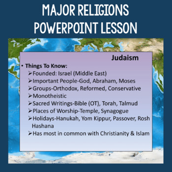 Major Religions Overview & Review