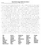 Rivers of the World Puzzle & WordSearch &KEYS