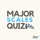 Major Scales Mini Quiz