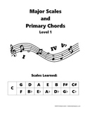 Major Scales and Primary Chords - Level 1