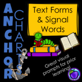 Major Text Form Anchor Charts