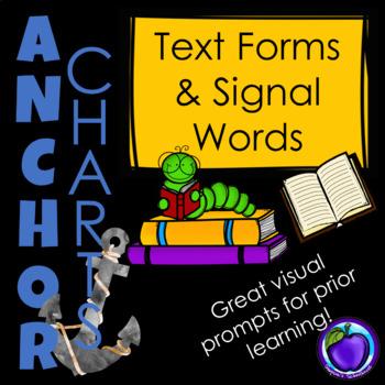 Major Text Form Anchor Charts