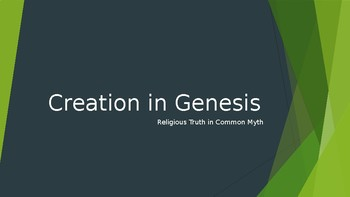 Major Themes in the Creation Accounts