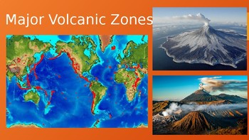 Major Volcanic Zones (including Space Volcanoes)