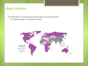 Major World Religions PowerPoints