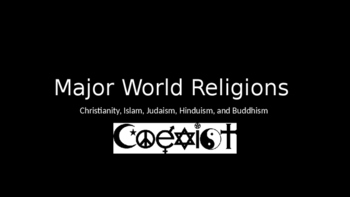 Major World Religions Powerpoint