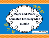 Major and Minor Animated Listening Map Bundle