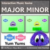 Elementary Music Game ~ Major Minor Interactive Music Game {Yum Yums}