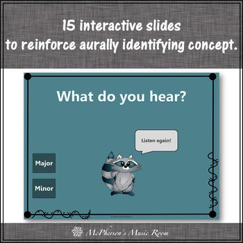 Major or Minor ~ Music Opposite Interactive Music Game {raccoon}