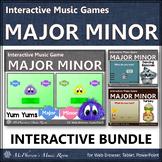 Major Minor Melody Games - Interactive Music Games {Bundle}