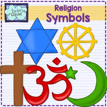 Major World Religions Symbols Christianity Judaism Islam