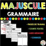 Majuscule - Grammaire - French Grammar