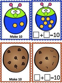 Make 10 Addition BUNDLE