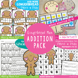 Make 10 Addition Pack {Gingerbread Man}