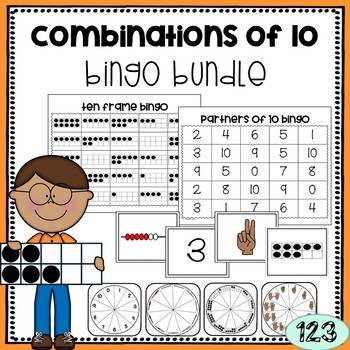Combinations of 10 BINGO Games