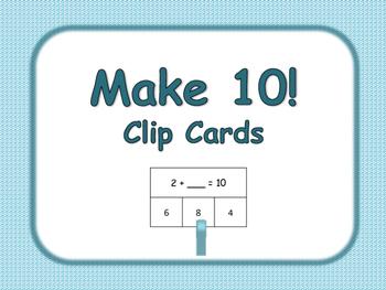 Make 10 Clip Cards