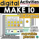 Make 10 Digital Google Classroom Activity DISTANCE LEARNING