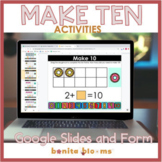 Make 10 Google Classroom with Google Slides, Distance Learning