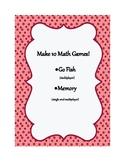 Make 10 Math Games!