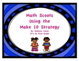 Math Scoots (Task Cards) Make 10 Strategy