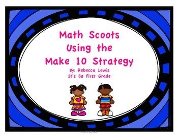 Make 10 Math Scoots (Task Cards)