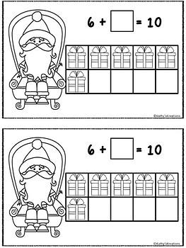 Make 10 Santa