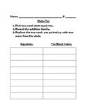 Make 10 (Score Sheet)