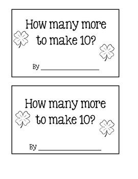 Make 10 ~ Shamrocks