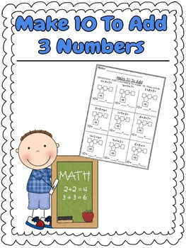 Make 10 To Add-Addition Facts to 20