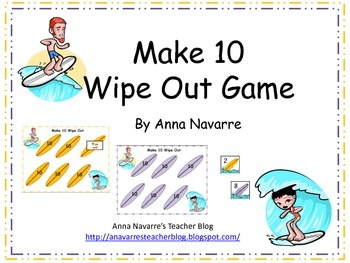 Make 10 Wipe Out Game