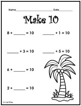 Make 10 at the Beach