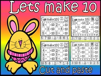 Make 10 cut and paste