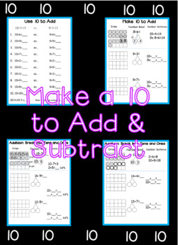 Make 10 to Add and Subtract