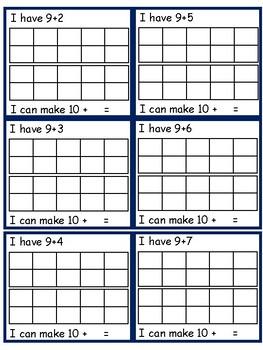 Make 10 using 10 Frames