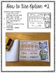 Make 10 with Cat - Printable Booklet