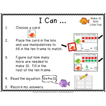 Make 10 with Little Fishy!