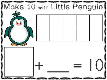 Make 10 with Little Penguin!
