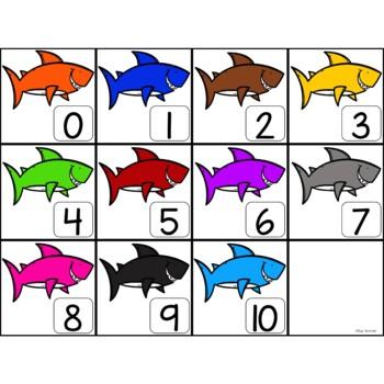Make 10 with Little Sharkie!