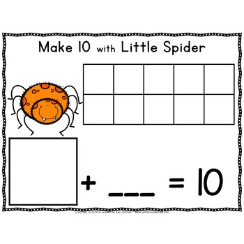 Make 10 with Little Spider!