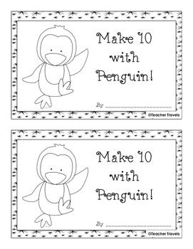 Make 10 with Penguins Addition Booklet