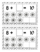 Make 10 with Snowflakes Addition Booklet