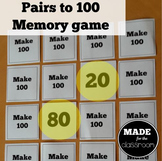 Make 100 - Classic memory game for pairs to 100
